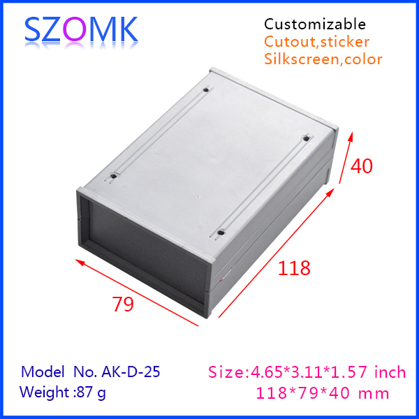 10 pcs/lot equipment enclosures housing for GPS tracker and abs plastic enclosures 118x79x40mm<br><br>Aliexpress