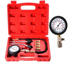 Automobile essence Engine Compression Tester Kit de Test jauge outil de moto Valve(China (Mainland))