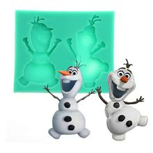 Silikonová formička na pečenie – Olaf z Ľadového kráľovstva