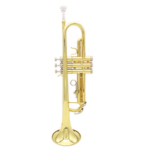 High Quality Trumpet Bb B Flat Brass Trumpet Phosphor Copper with Mouthpiece Cleaning Brush Glove Strap(China (Mainland))