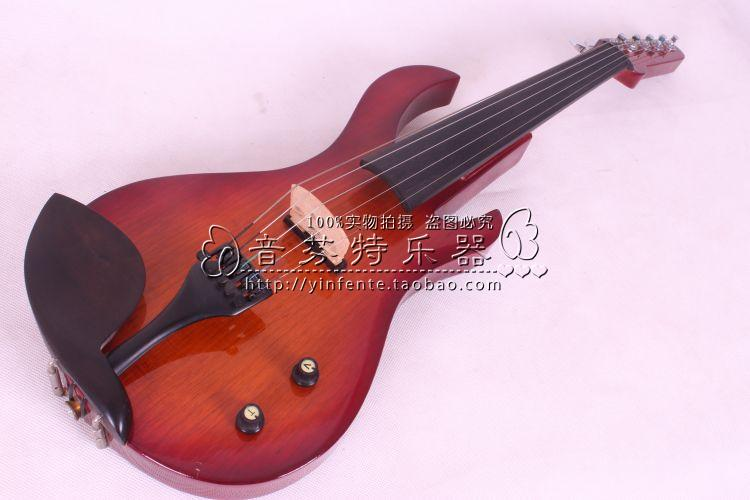 Handmade Electro-acoustic violin electronic violin mute electric violin(China (Mainland))