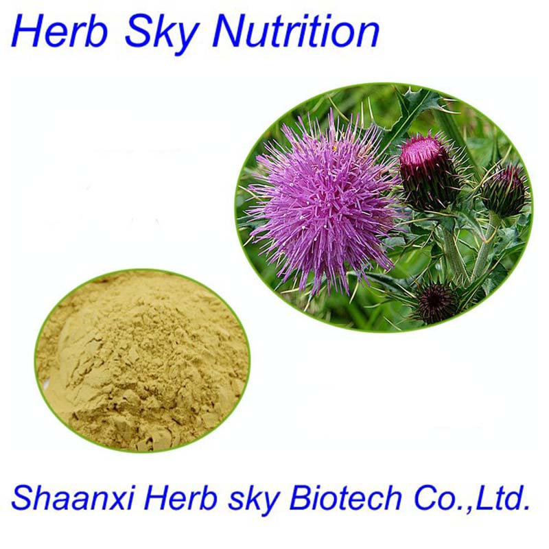 Silybum marianum Extract powder herb extract for liver 200g/lot<br><br>Aliexpress