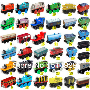14pcs Thomas Train Car Wooden Complete Set of Car Toy Train Toys for The Children for Man for Woman(China (Mainland))