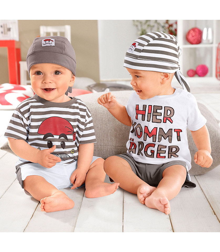 1 pieces retail new cotton fashion baby boys summer outfit set infant clothings set ( tee + pants + hats )(China (Mainland))