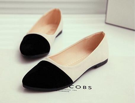 Большой размер 40 новые горячие продажи женщин замши плоские туфли моды случайные ...