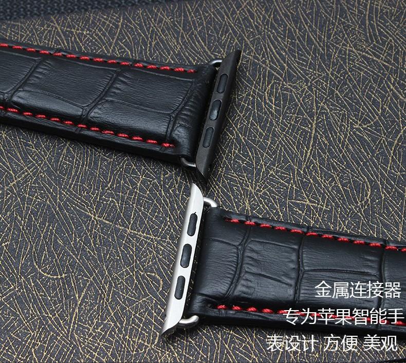 38 | 42 мм высокое качество импортные кожаный ремешок с модные пряжка