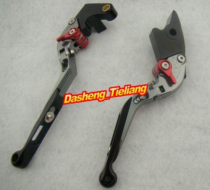 Foldable Motorcycle Brake Clutch Lever for Honda 2003 2004 2005 2006 CBR 600RR &amp; 2002-2003 CBR954RR Grey<br><br>Aliexpress