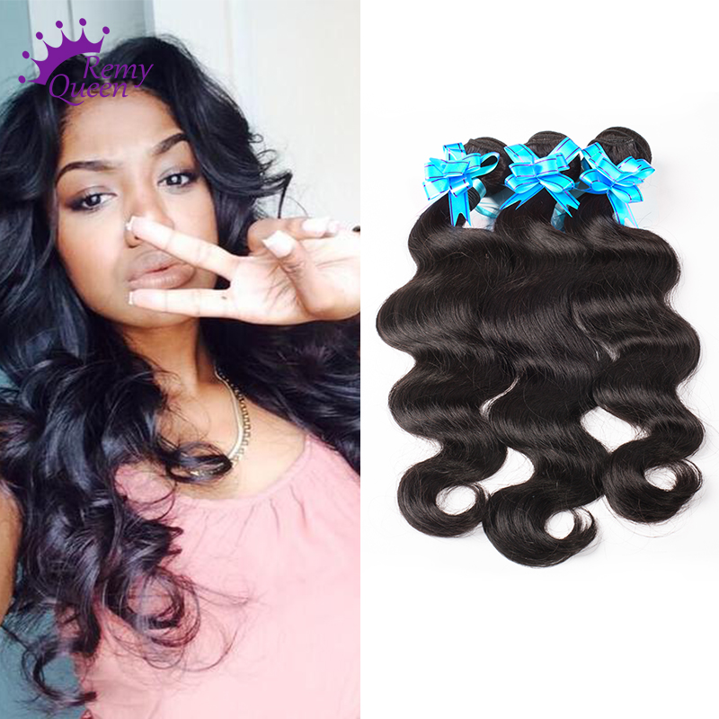 6A Grade Virgin Unprocessed Human Hair Hair Body Wave 3 Bundles 8-30 Inches 100% Human Hair Brazilian Body Wave More Wavy<br><br>Aliexpress