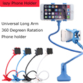 NEWEST Foldable Lazy Phone Holder Flexible Long Arm 360 Degreen Rotating Double Clip Portable Fit Bed