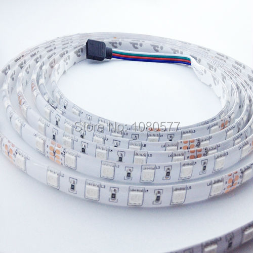 10m/roll 5050 Changeable LED strip RGB Waterproof 24V 600LEDs SMD 5050 Flexible Light Ribbon(China (Mainland))