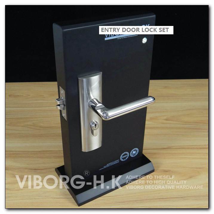 Security Lock Lever : Quality keyed privacy door security entry mortise lever