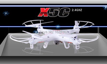 TOP Quality !! SYMA X5C 100% Original 2.4G 4CH 6-Axis R/C Helicopter Quadcopter RC Drone With/without HD Camera