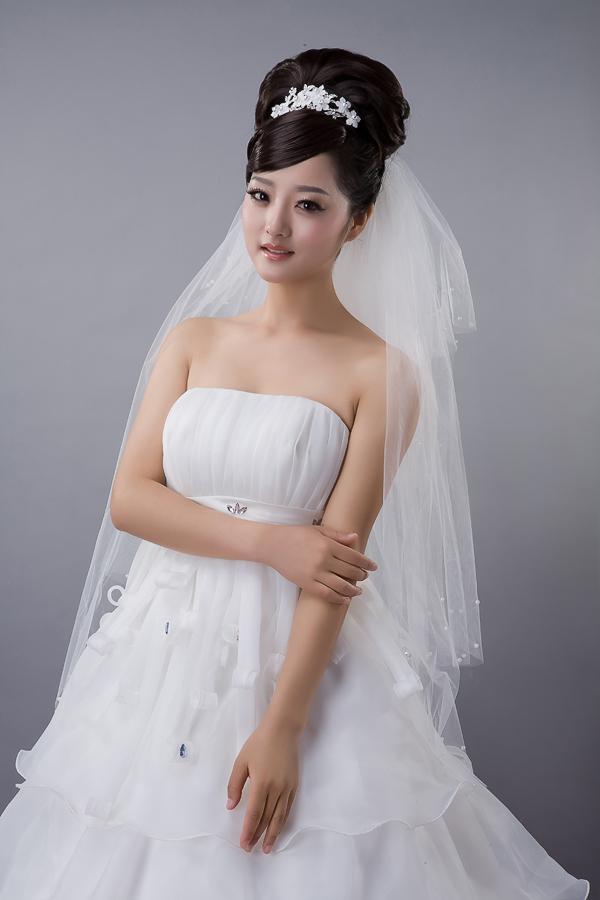 Veil the bride wedding dress veil wedding dress formal dress accessories(China (Mainland))