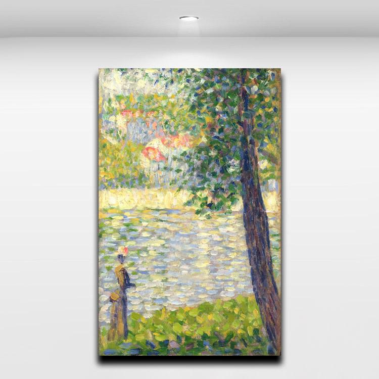 Home Office Decor For Private Impression: Seurat Impression Promotion-Achetez Des Seurat Impression