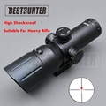 VISM 4X50 Red Dot Scope Reticle Fiber Sight Scope Rifle Big Caliber Super Shock Proof Riflescope