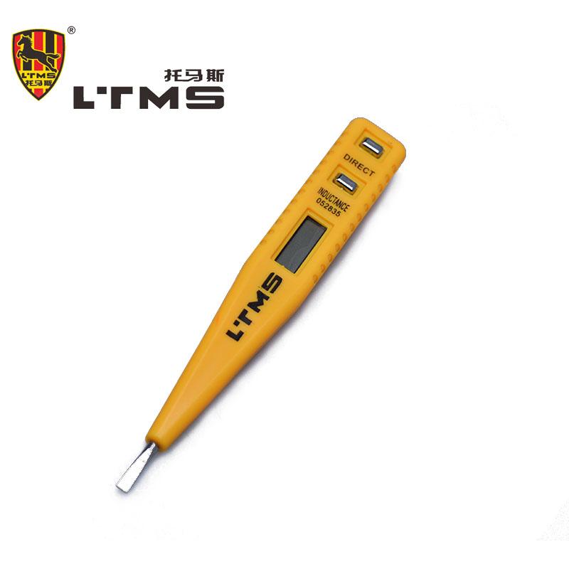 AC-DC 12~ 250V Digital Voltage Tester Pencil LCD Display Multifunction Test Pen Voltimetro Digital Tester Digital Electrical(China (Mainland))