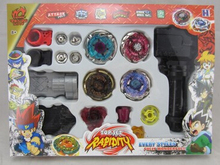 Beyblade Launchers Toys Fight Masters Metal Fusion 4D Set Spinning Top System LOOSE Battle Top 3 Styles to Choose J742(China (Mainland))