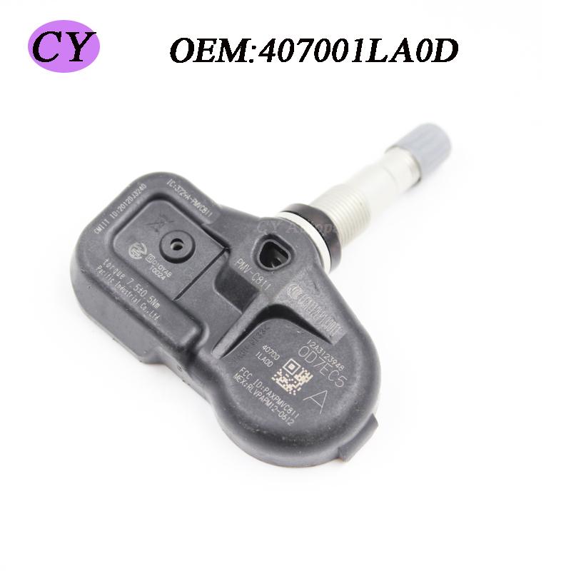 Genuine OEM TPMS Sensor de Pressão Dos Pneus Para Nissan Infiniti 407001LA0D Importados do Japão(China (Mainland))