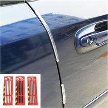 Door Edge Guards Trim Molding Protection Strip Scratch Protector Car Crash Barriers Door Guard Collision for all car 1set UAP05