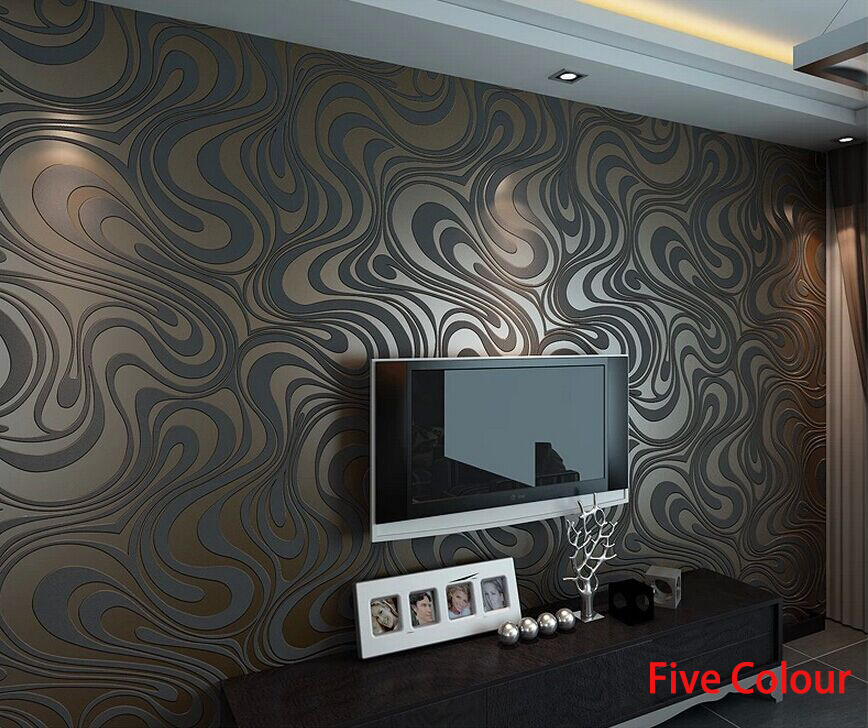 2015 hot sale modern luxury 3d wallpaper roll for Wallpaper rolls for sale