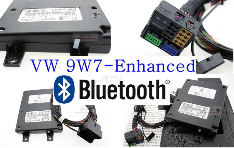 VW Original Bluetooth Kit 9W7 7P6 035 730 J/M/K/N Fit For Volkswagen Golf Jetta Skoda Seat RCD510 RNS510(China (Mainland))