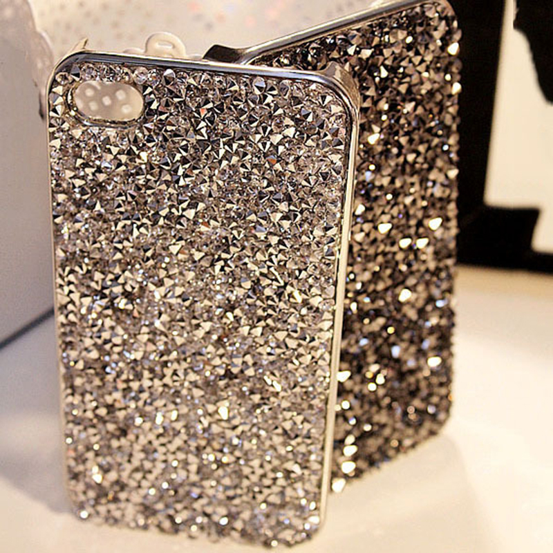 Style Luxury Bling Rhinestone Cover Fashional Diamonds Crystals Phone Case Iphone 5 - GMFIVE International Trade Co. Ltd store