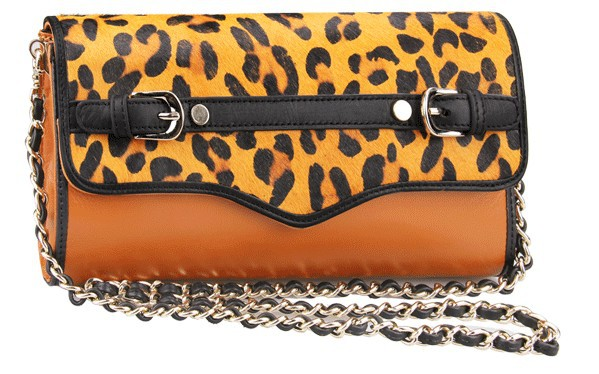 2015 Lady Luxurious Genuine leather handbags shoulder bags Leopard messenger bag Fashion Day clutch Chain small women's clutches(China (Mainland))
