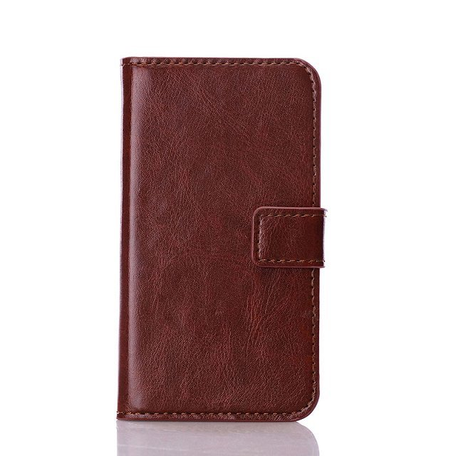 New Luxury PU Book Leather Case For Samsung Galaxy Core Plus G3500 Trend 3 G3502 Phone Cases Wallet Stand Card Slot Black Brown(China (Mainland))