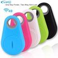 YFW Wireless Bluetooth Smart Anti Lost Tracker Wallet Child Key Finder Lost Thing Receiver Sensor Alarm