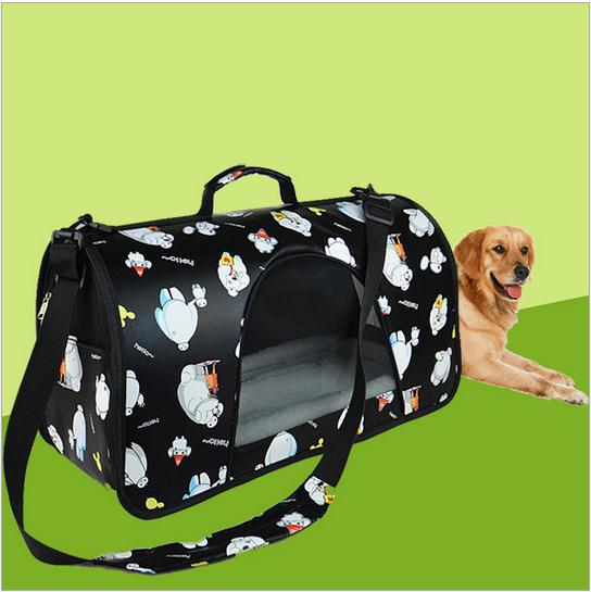 New arrival Pet Dog Carrier Durable Pet Bag Folding Carrier Cage Dog Bag Tote Bag for dogs cats pets(China (Mainland))