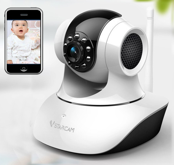 buy wireless control video baby monitor wifi talk back intercom camera with ir. Black Bedroom Furniture Sets. Home Design Ideas