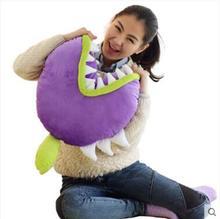 45cm Plants vs Zombies Plush Toys Piranha Soft Stuffed Doll Pillow Baby Toy Kids Gifts Party - yanzishitou store
