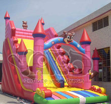 BY SEA Bouncy castle slide inflatable slide free shipping(China (Mainland))