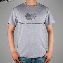 Buy PXH OTD MATHS FIBONACCI short sleeve T-shirt Top Lycra Cotton Men T shirt New DIY Style for $9.52 in AliExpress store