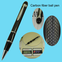 60gram Ballpoint Pen for Father's Day Gifts Carbon Fiber Pens Unique Design Parker style refill Car Shop Accessories Writing Pen(China (Mainland))