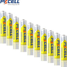 12pcs PKCELL Ni-MH 1000mAh 1.2V AAA Rechargeable Battery Bateria Baterias for Camera Flashlight Toy