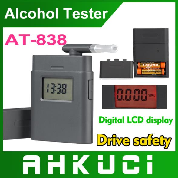 AT-838 Breath alcohol tester with clock(China (Mainland))
