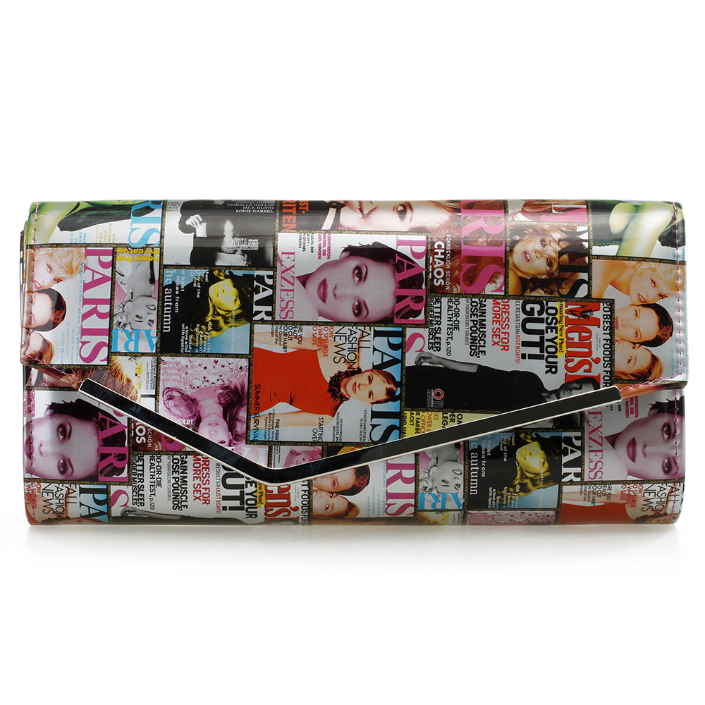 Clutch bags MAGAZINE COVERS Night Out Clutches Clutch bag. A Night Out Find this Pin and more on Wear That Magazine Clutch a clutch bag that will fit more than just your cell phone inside! Vintage inspired