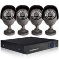 8ch HD מלא 960h מערכת טלוויזיה במעגל סגור 8ch מעקב וידאו DVR היברידי ערכת 8*800TVL חיצוני מצלמת אבטחה מערכת NVR עבור מצלמת ip