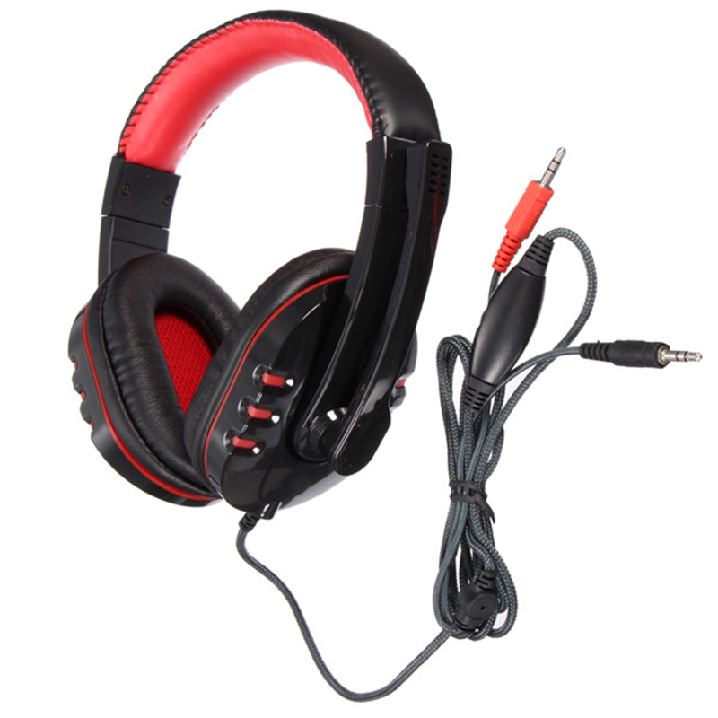 New Best Pricel Stereo PC Gaming Headphone Headset Earphone With Microphone For Laptop Skype Computer For PS3(China (Mainland))