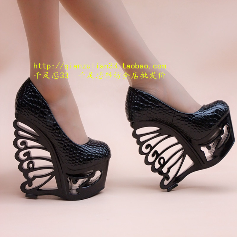 15 cm high heeled mules - 1 3