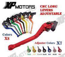 CNC Long Adjusatable Brake Clutch Lever Yamaha XTZ660 Tenere 92-98 SR500 78-91 XJ550 81-85 XJ650 80-85 XJ700 84-86 - A&M Kebull's Parts store