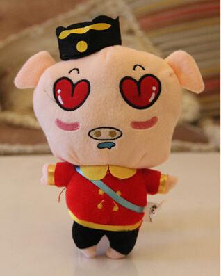 Plush Toy Stuffed Animal Doll animal toy For Girl boys Kid Kawaii pig plush toys stuffed animals Christmas gifts(China (Mainland))