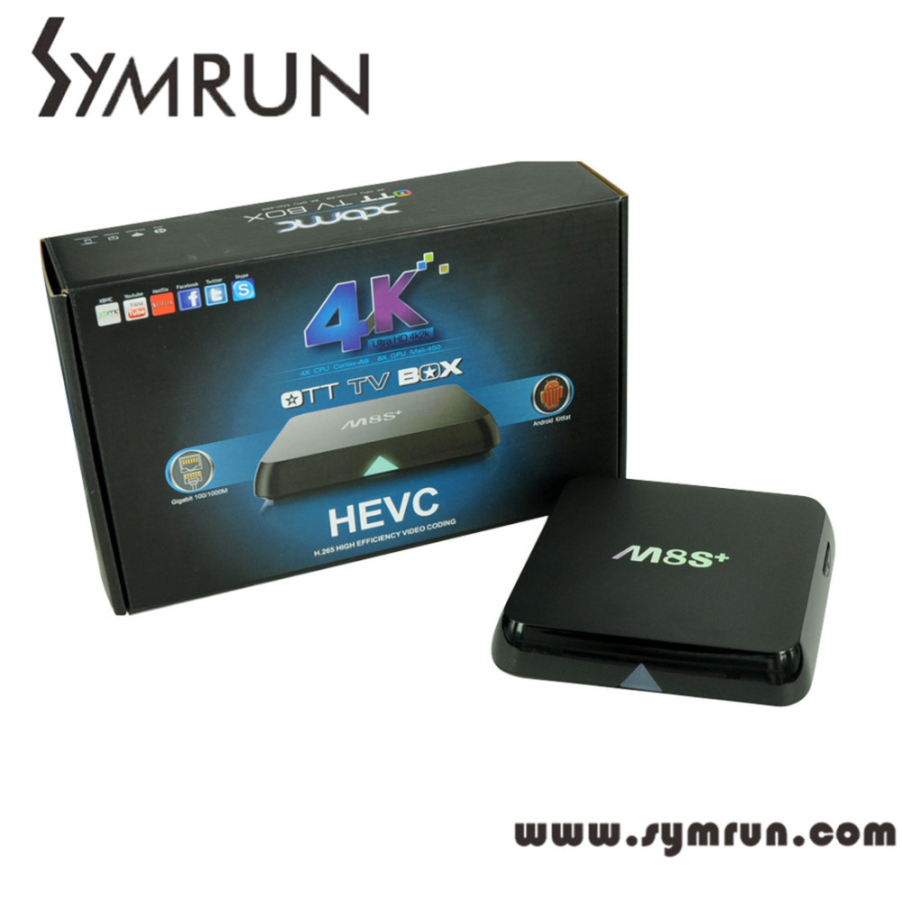 Symrun 2016 M8S Plus/M8S+ Amlogic S812 Quad Core Android Tv Box Xbmc 14.2 Android M8S Plus S812 Android Tv Box(China (Mainland))