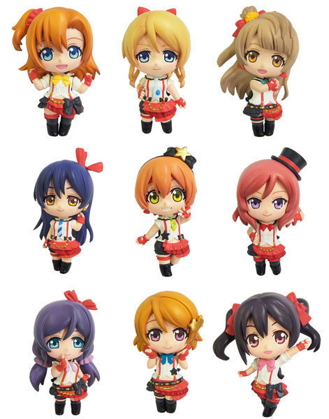 Japanese Anime Figure Love Live! Brinquedos School Idol Project Juguetes PVC Action Figures Model Doll Kids Toys 9Pcs/Set<br><br>Aliexpress