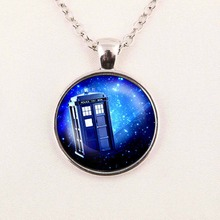 Steampunk drama doctor who tardis necklace dr who timelord companion time lord purple Nebula chain 1pcs/lot mens Pendant jewelry