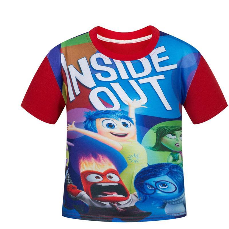 Summer children t shirts inside out t shirt girls clothes 2016 font b boys b font