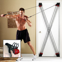 Household on door resistance rope tension device rope leg indoor fitness sports equipment X-FACTOR pull rope