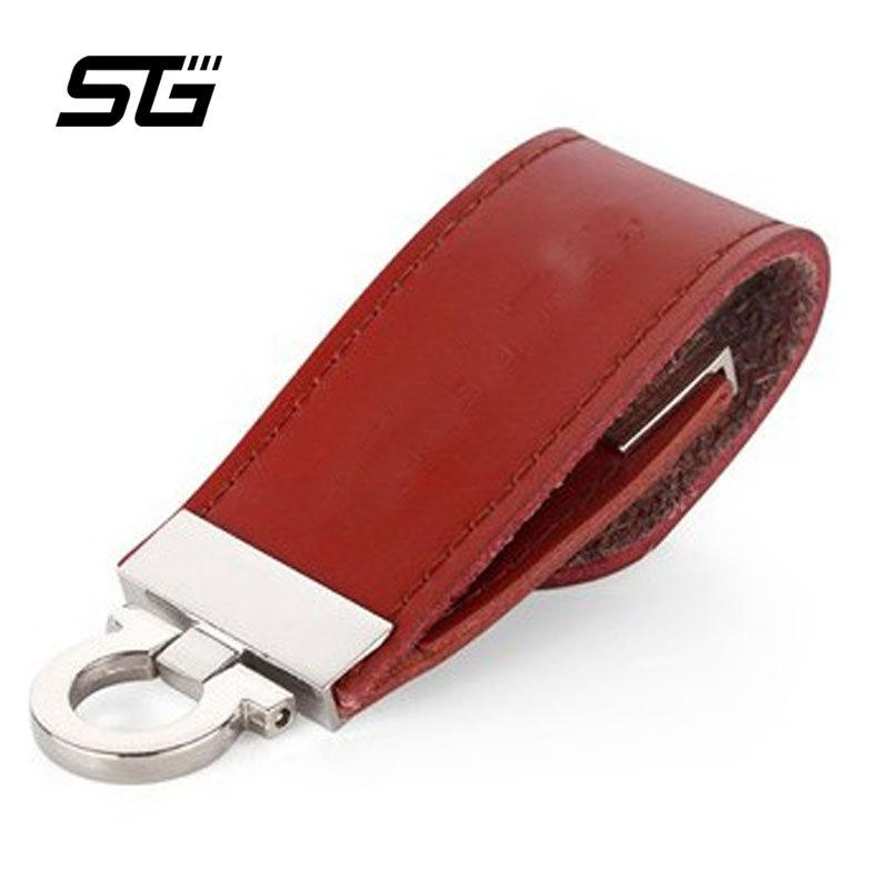 High-grade Leather USB Flash Drive 16GB 8GB 4GB Pen Drive Pendrive Flash Drive flash Card Stick memoria usb flash disk on key(China (Mainland))