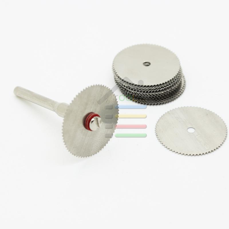 New 20PCS 22mm Steel Wood Cutting Disc Cut Off Wheel Circular Saw Blades Mini Dremel Rotary